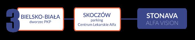 Transport ze Skoczowa lub Bielska